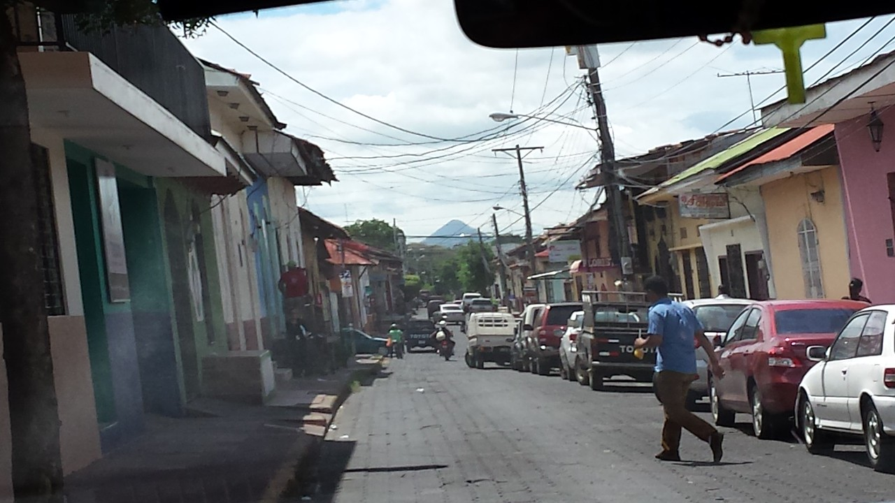 Reminded me of streets in Mexico & Guatemala