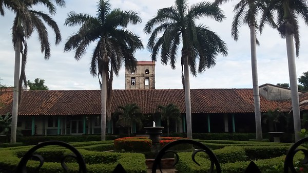 El Convento from the courtyar