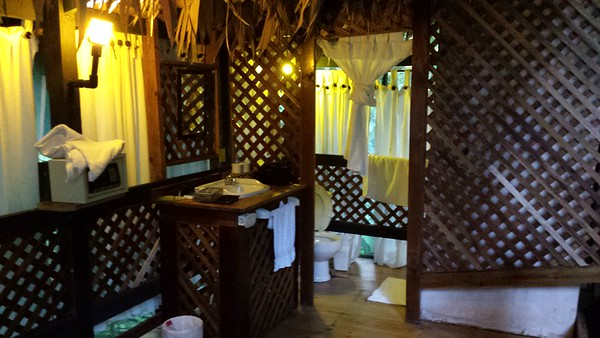 Bathroom inside My Tent Room