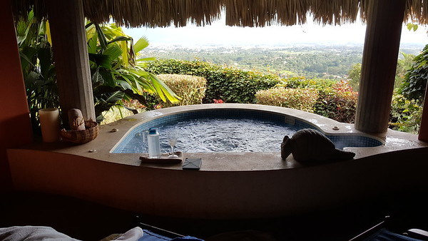 The SPA was exceptional!  -  My Private Hot Tub Overlooking Alajuela!