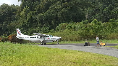 My Plane In and Out of Golfito