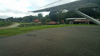 Golfito - the little bay and town off Gulf of Dulce, Costa Rica