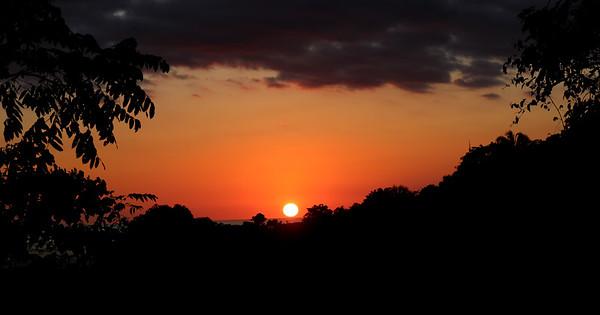 Wednesday Sunset (last night from room)