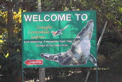 Entrance to Jungle Crocodile Safari