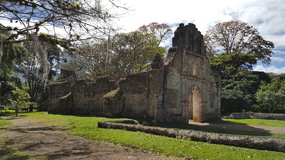 The Oldest Church Building in Costa Rica, built 1580 - A National Historic Park