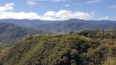 View from Mirador Ujarrás