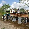 Danta Corcovado Lodge's Tractor & Trailer saves a 6 km Walk to Park Entrance