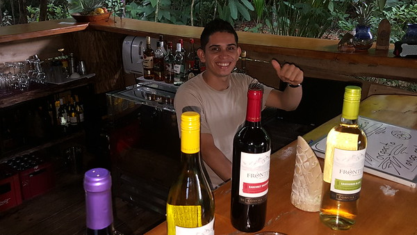 David Venegas, Bartender & Waiter Superb!