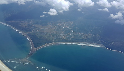Flying Over Whale's Tail Beach