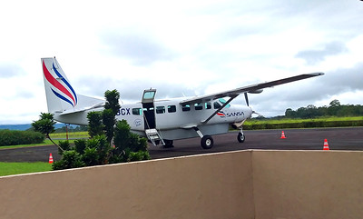 Sansa Plane at Arenal Airport