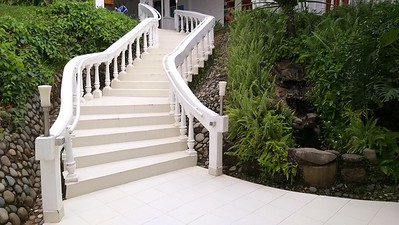 Beautiful Stairs up to Rooms