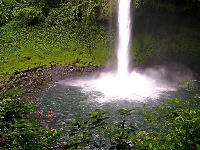 Plunge Pool,  La Fortuna Waterfall