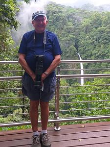 Dumb Pose at La Fortuna Waterfall  :-)