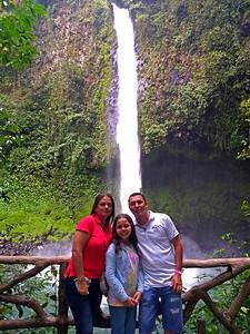 My Driver & Family,  La Fortuna Waterfall