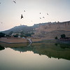 Maota Lake in front of Amber Fort