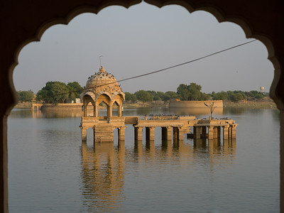 Gadsisar Sagar Lake