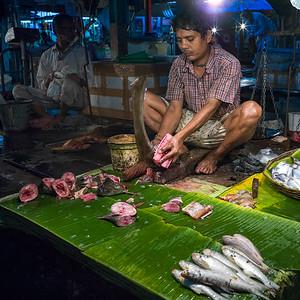 Naskar Fish Stall Kolkata