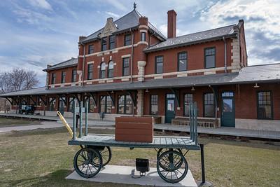Dauphin Railway Station -1912