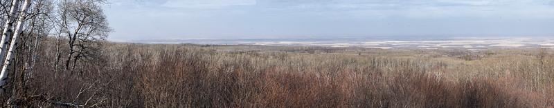 Manitoba escarpment viewpoint - Riding Mountain