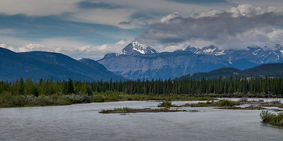 Athabasca River - Yellowhead Hwy