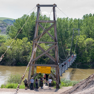 The Star Mine Suspension Bridge