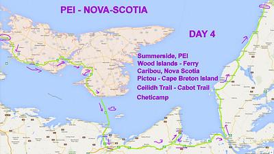 Day 4 - Summerside PEI to Cheticamp Cape Breton