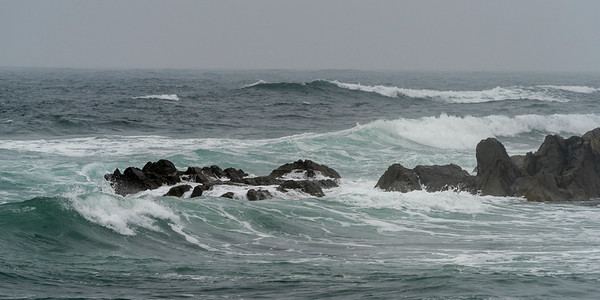 Atlantic Ocean at Louisbourg Fortress