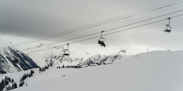Skiing in Whistler 2018