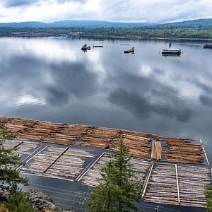 Logging on the Strait of Johnstone