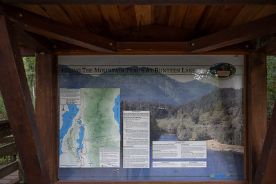 Hiking the Mountain Trails at Buntzen Lake