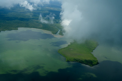 Belize - from the air