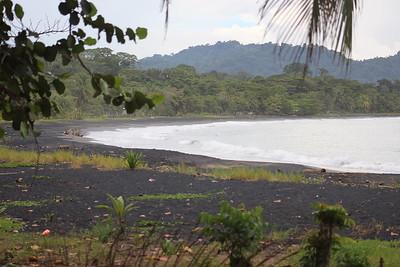 Black Sand Beach or Playa Negro