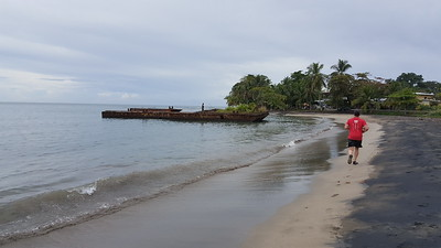 Sunken Barge or Boat