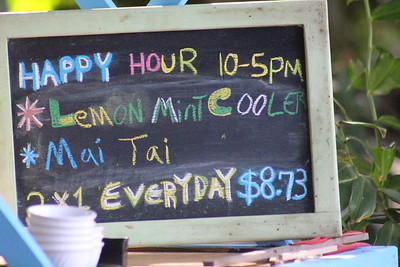 That's Right! Happy Hour Begins at 10 AM!