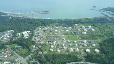 Oil Tanks at Port