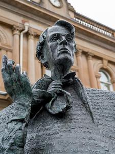 William Butler Yeats Statue