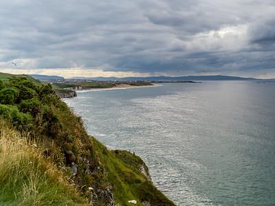 Cliffs on the Causeway Coastal Route - Northern Ireland