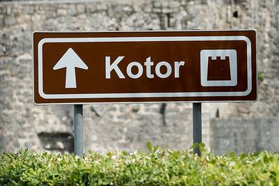 Climbing Kotor Fortress