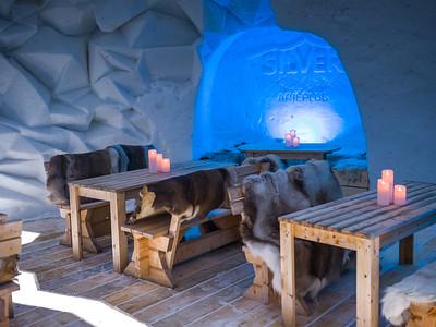 Dining Room - IGLOOTEL Lapland