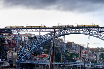The Dom Luis bridge