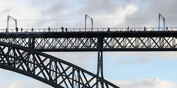 The Dom Luis bridge