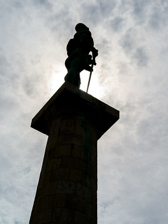 The Victor is a monument in the Upper Town of the Belgrade Fortress