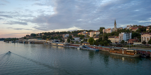 View from the Sava River