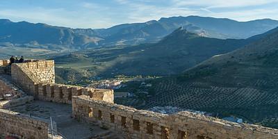 Saint Catalina's Castle - Jaen Spain
