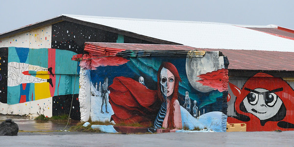Murals of Hellissandur