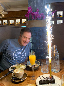 Keith's Birthday Celebration in Reykjavík