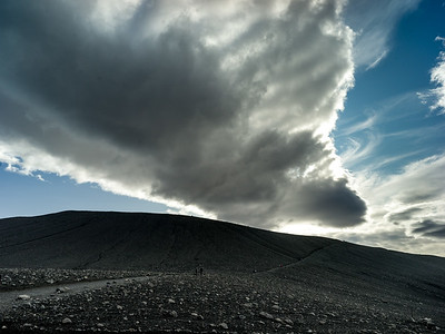 The Hverfjall crater