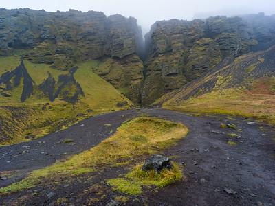 Rauðfeldsgjá Gorge