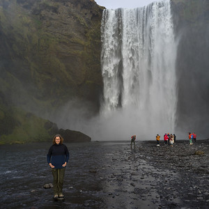 Skógafoss Waterfalls