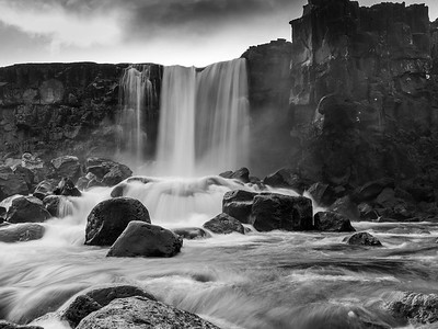 Oxararfoss waterfall